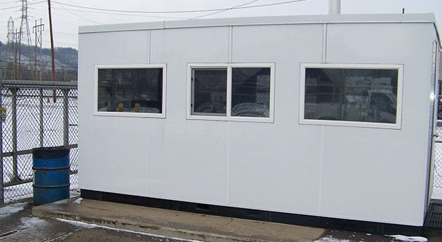 Modular Temperature-Controlled Outbuilding