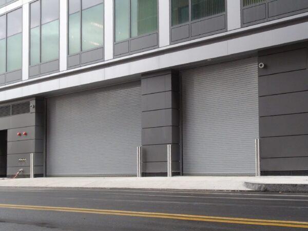 1024 doors in parking garage retouched