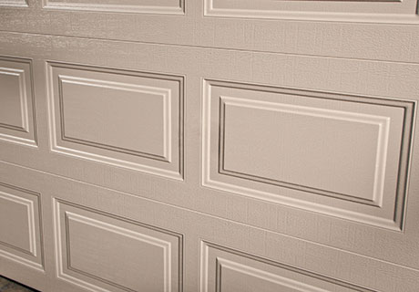 Classic Collection Elegant Panel for Garage Doors Side View