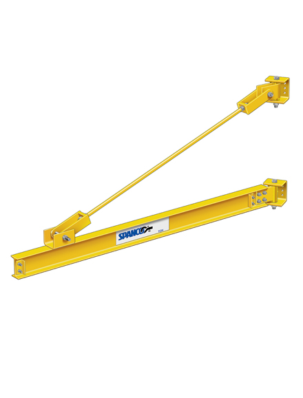 301 Series Jib Crane Main Beam with Support