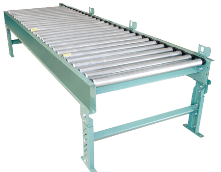 Poly-V Powered Roller Zero Pressure Accumulating Conveyor with rollers set high