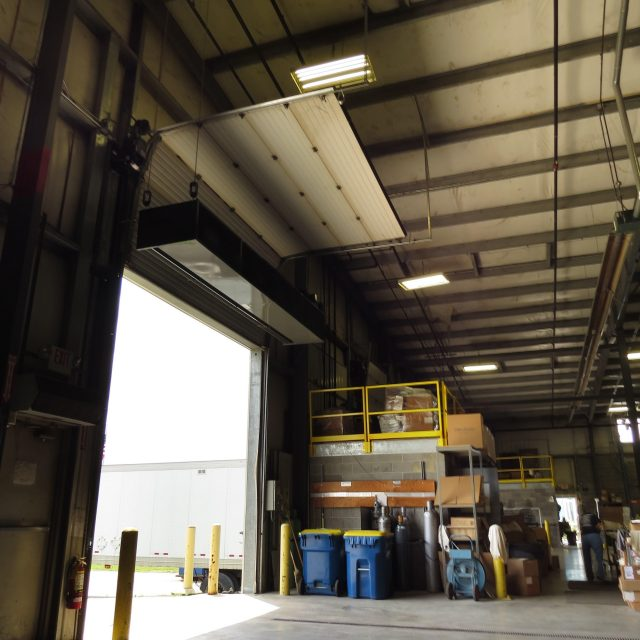 Berner CF Air Curtain Application