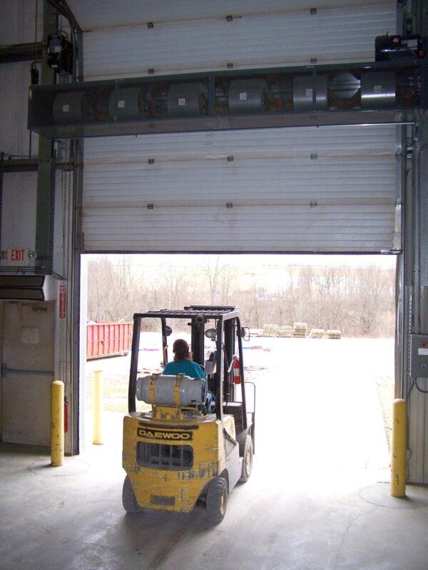 Berner CF Air Curtain Loading Dock 2