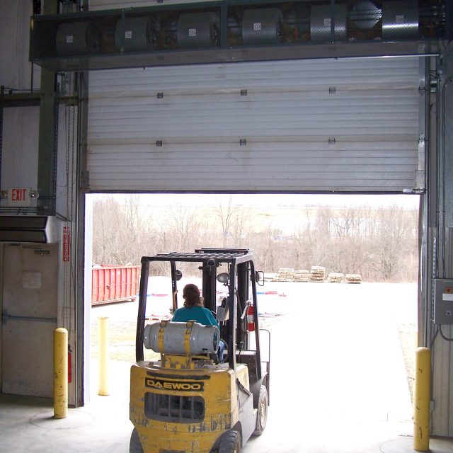 Berner CF Air Curtain Loading Dock