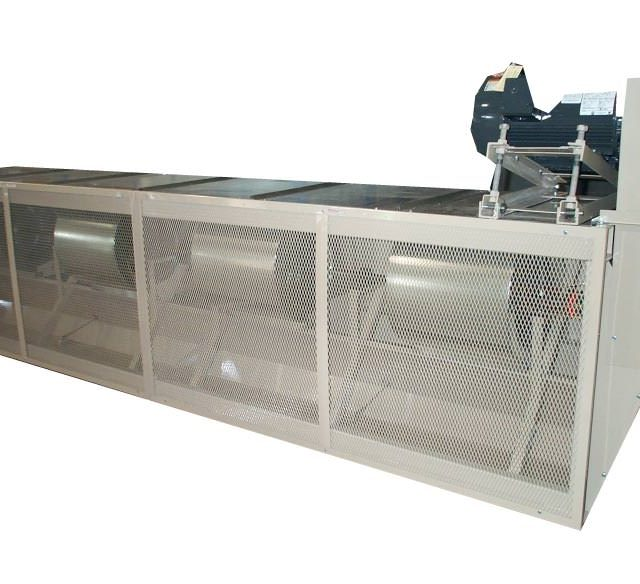 Berner EWD Industrial Belt Drive Air Curtain