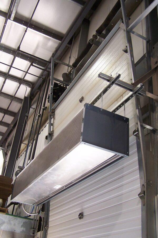 Berner VS Air Curtain Application