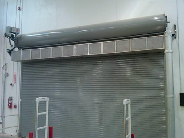 Berner VS Air Curtain Custom Mounting Bracket