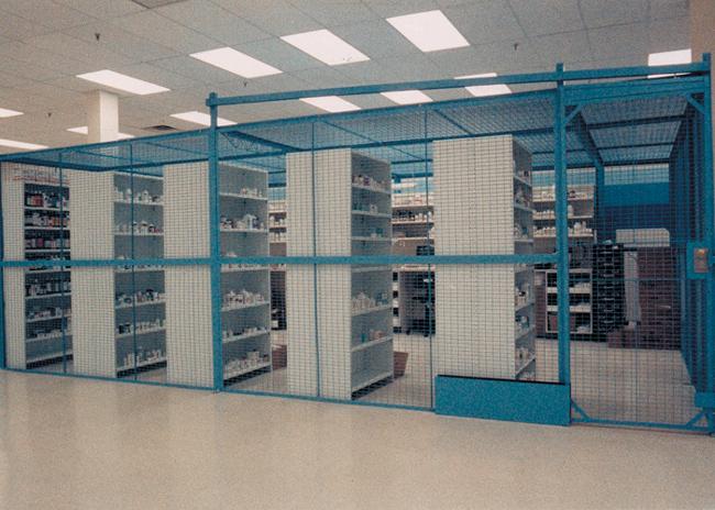 DEA Controlled Substances Cage