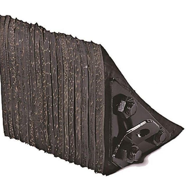 Durable Recycled Rubber Wheel Chocks