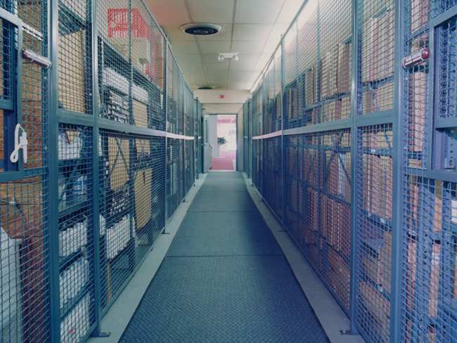 Evidence/Secured Storage Cages