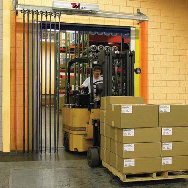 Motorized Accordian Folding Door