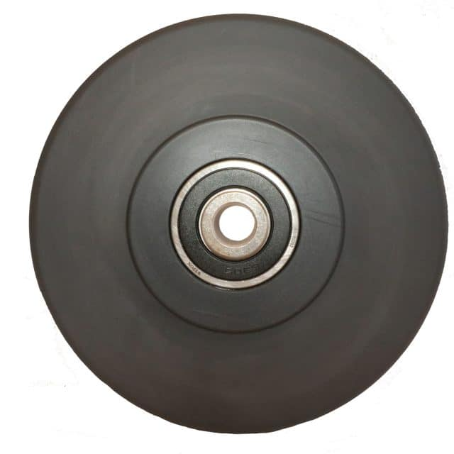 Nylon Solid Slab Wheel with Roller Bearing