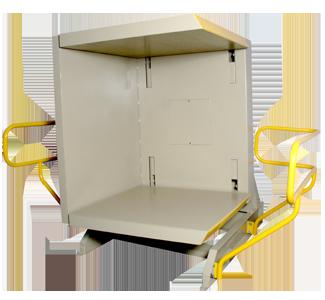 PalletPal Enclosed Pallet Rotator