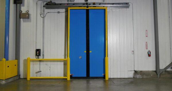 Rytec Turbo Slide Double Door Blue Color