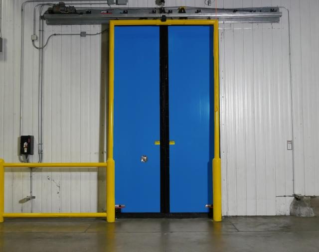 Rytec Turbo Slide Double Door Blue Color
