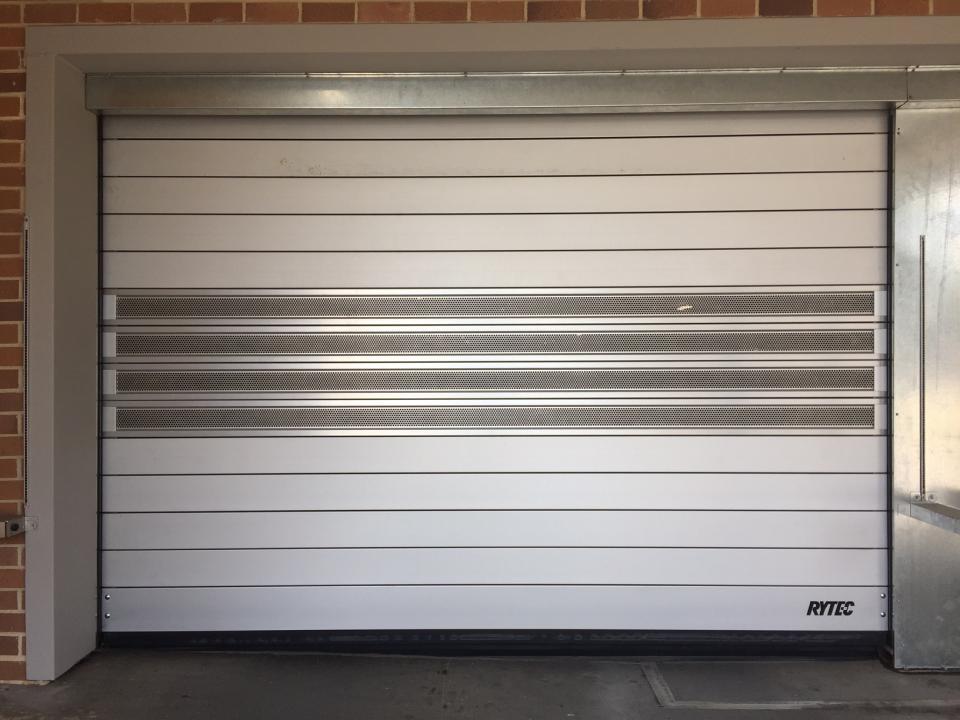 Spiral Vt Ventilated Barron Equipment Overhead Doors