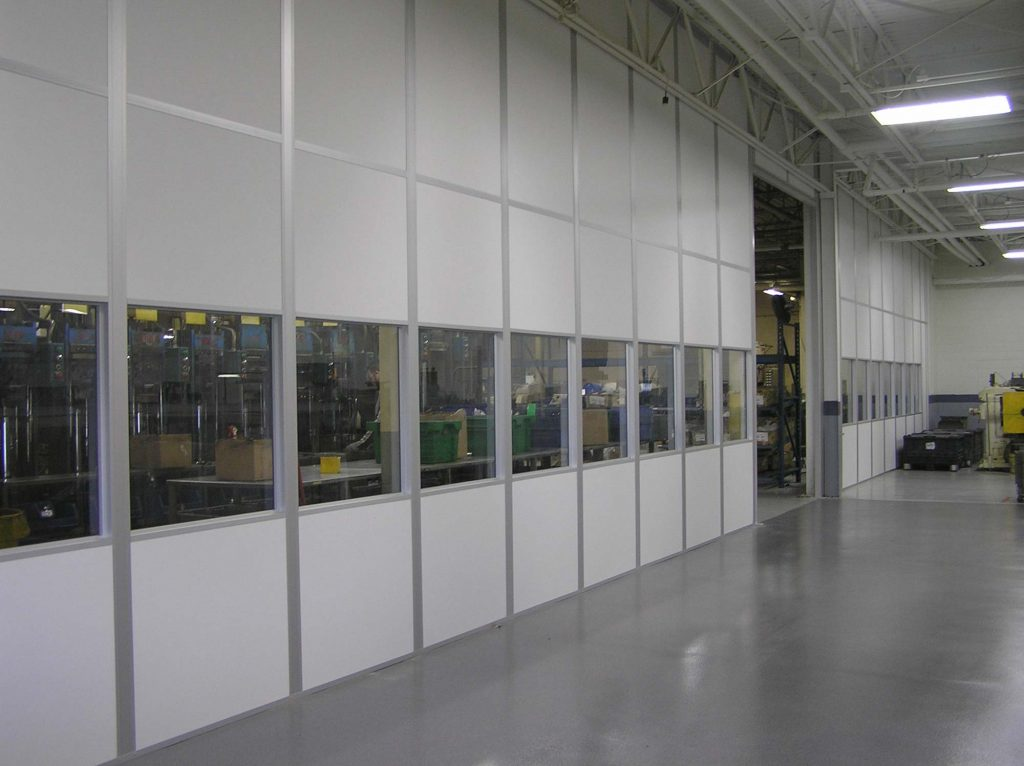 Guarding Wall Partition