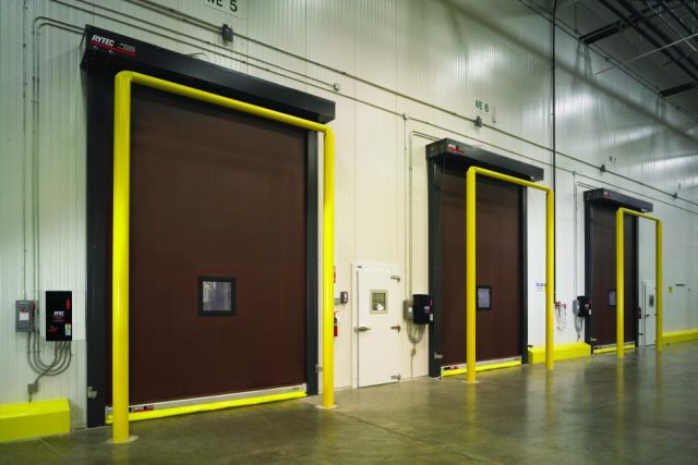 Turbo Seal Refrigeration Door