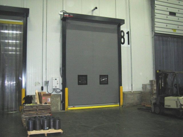 Turbo Seal Tall High-Speed Door with Windows