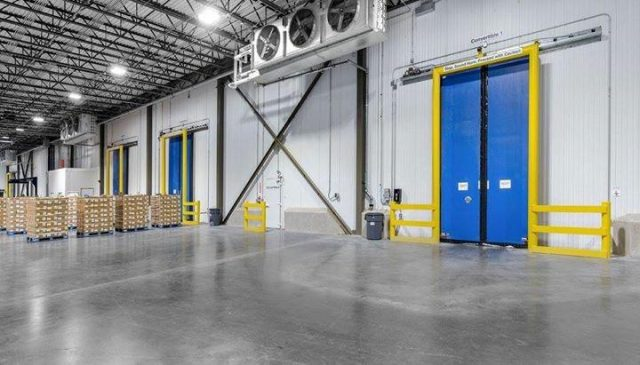 Turbo Slide Cold Storage Door