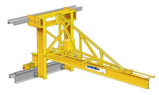 Wall Traveling Jib Crane Main Section