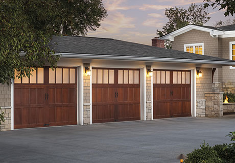 Beauty Reserve Wood Collection Semi-Custom Series, 3 Doors with Frosted Pane Windows