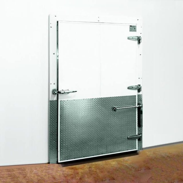 coldguard swing cold storage door