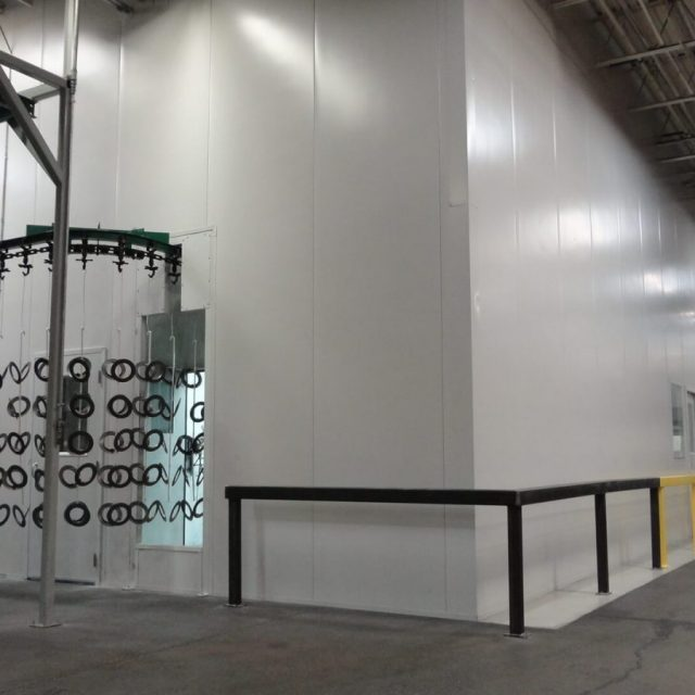 Controlled Environment Room in Manufacturing Facility
