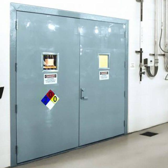 Fib-R-Dor Fiberglass Door