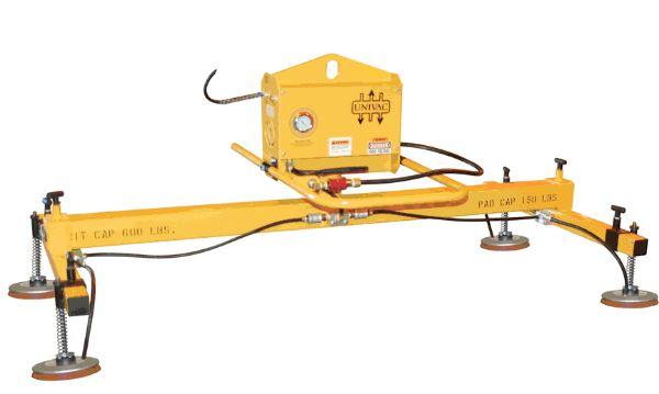 2 Crossarm 4 pad standard duty Vacuum Lift