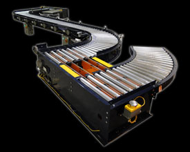 24V Flat Motor Driven Roller Conveyor Configuration