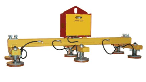 3 Crossarm 6 Pad Heavy Duty Vacuum Lift