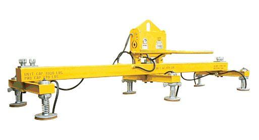 3 Crossarm 6 Pad Standard Duty Vacuum Lift