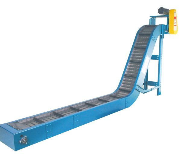 721 60 degree Hinged Steel Belt Conveyor