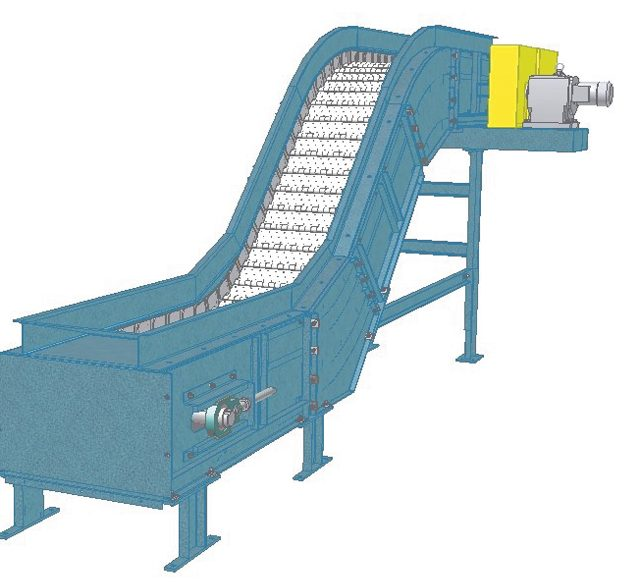 Model 760 Conveyor Inventor Drawing