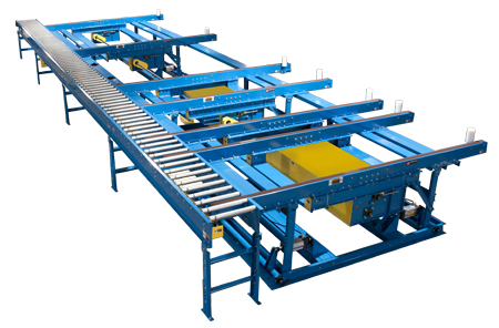 7 Strand Belt Transfer Conveyor