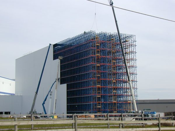 Automated Storage and Retrieval System Housing Construction
