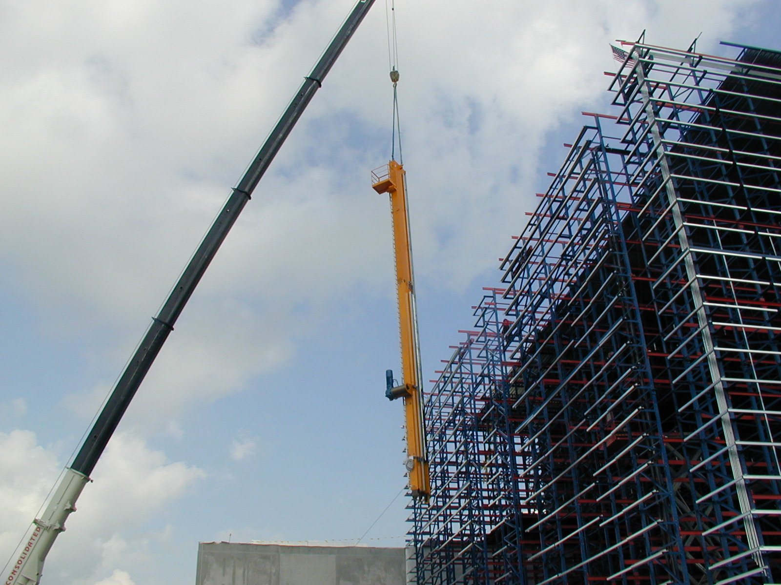 Automated Storage and Retrieval System Installation