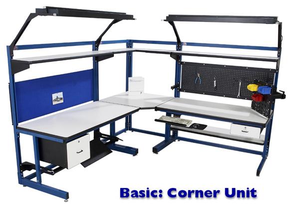 Basic Corner Unit Workstation