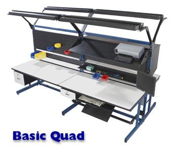 Basic Quad Workstation