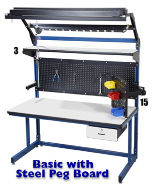 Basic with Steel Peg Board