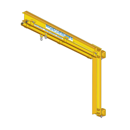 Column Mounted Swing Arm Anchor Track System