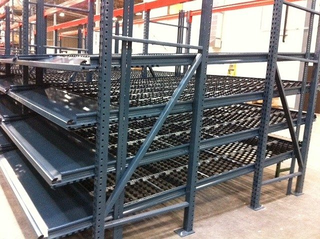 Dyna Deck Carton Flow Racking