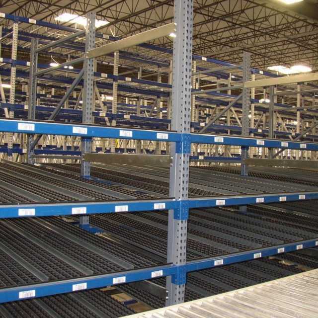 Econo Flo Carton Flow Rack