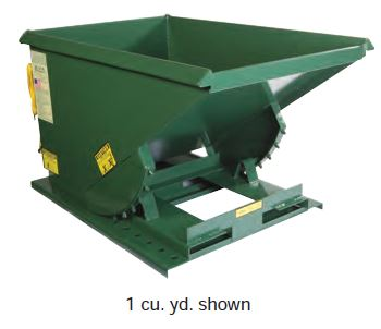 Extra Heavy Duty Formed Base Hopper
