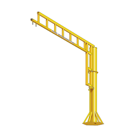 Freestanding Swing Arm Anchor Track System