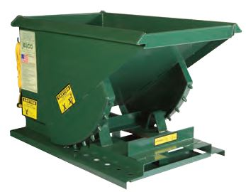 Heavy Duty Formed Base Hopper