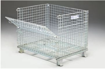 Heavy Folding Wire Container