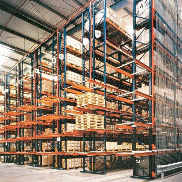 Conventional pallet racking overview