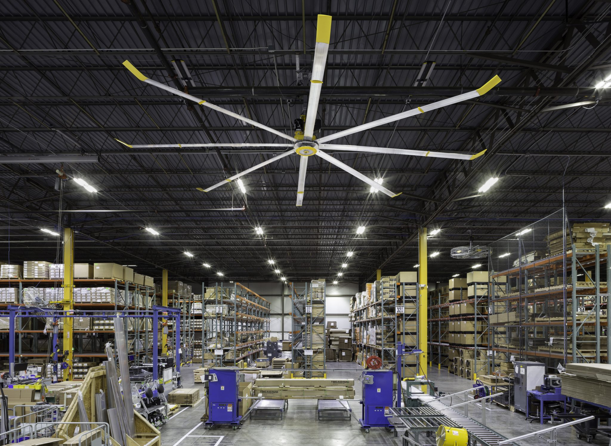 Large Factory Fan 1